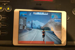 Indoor Training and Zwift Run review - jackie hering pro triathlete
